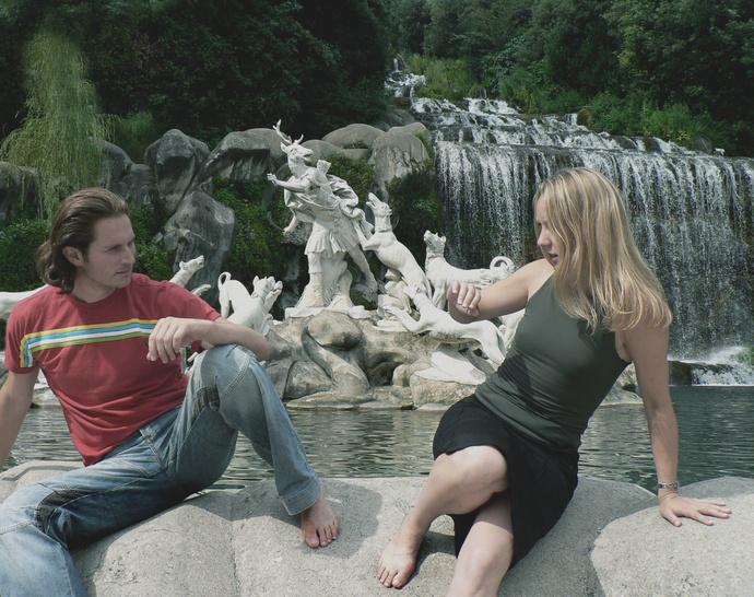 Anna & Gianni Diana & Acteaon Fountain