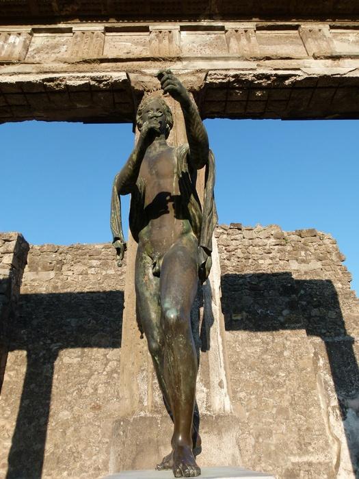 Bronze Apollo Pompeii 10