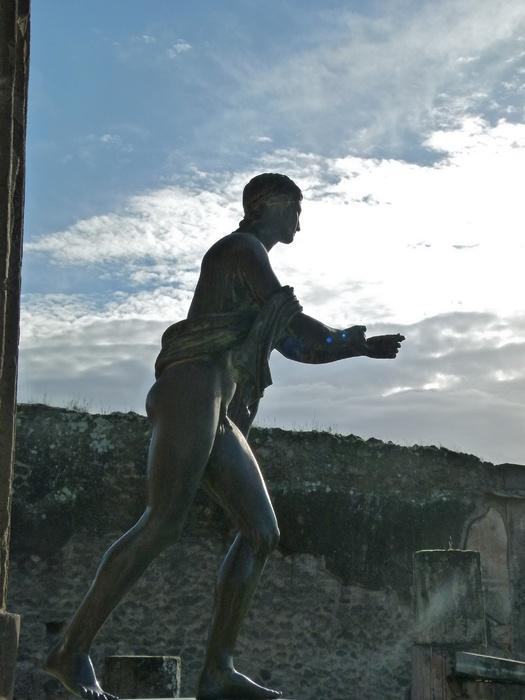 Bronze Apollo Pompeii 4