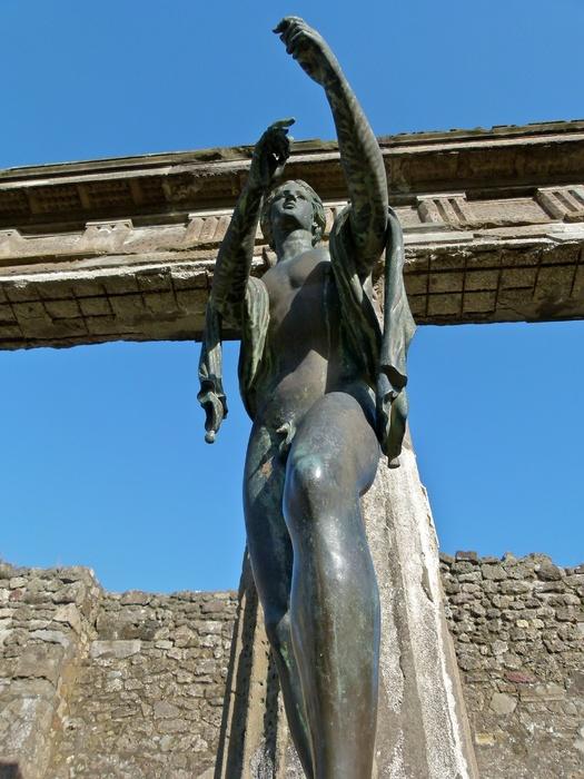 Bronze Apollo Pompeii 5