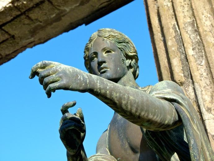 Bronze Apollo Pompeii 6