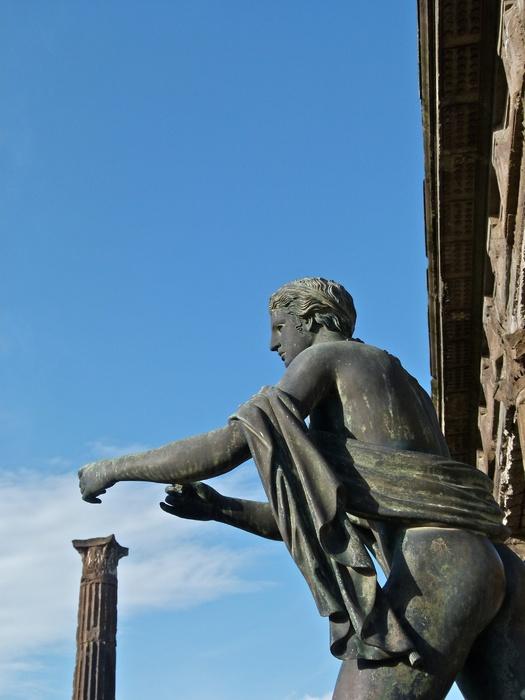 Bronze Apollo Pompeii 7