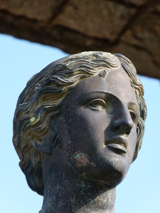Bronze Apollo Pompeii 8