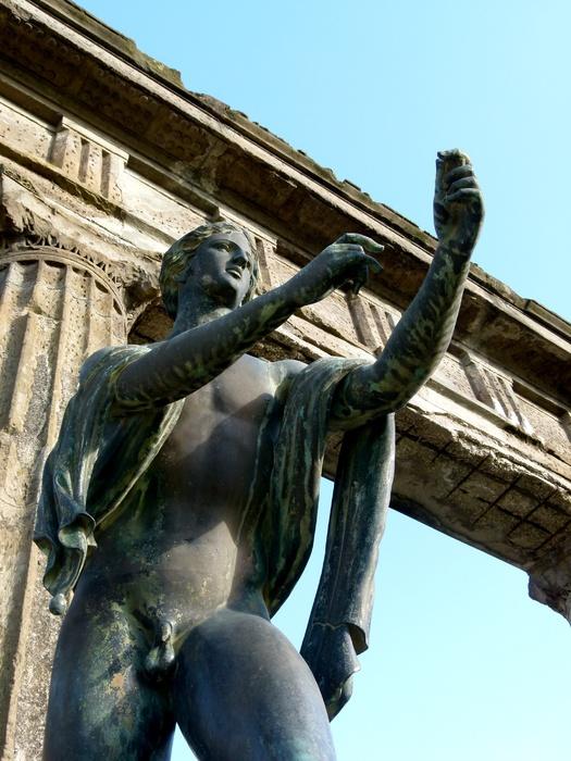 Bronze Apollo Pompeii 9