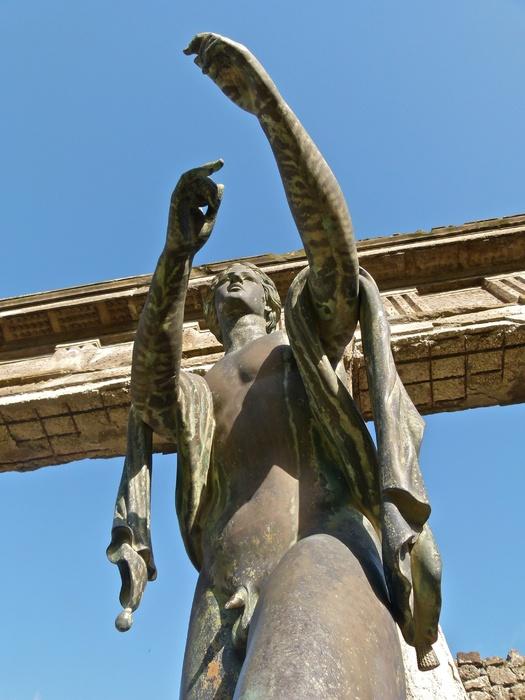 Bronze Apollo Pompeii