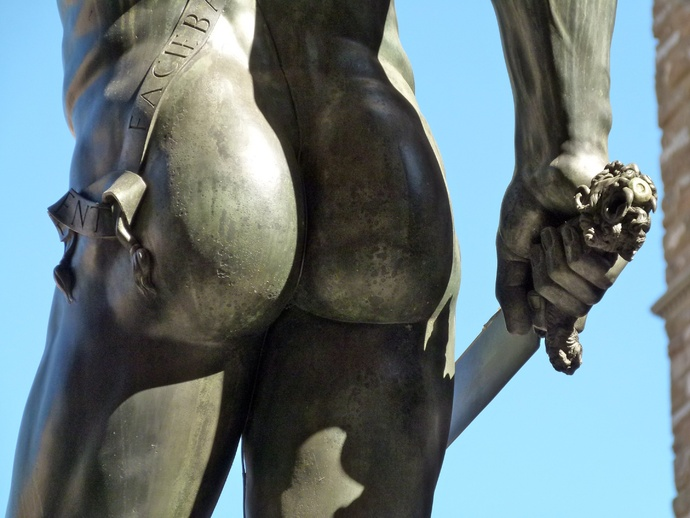 Cellini's Perseus 2