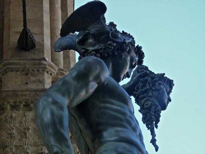 Cellini's Perseus & Medusa 7