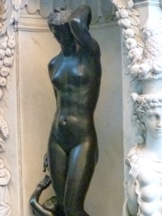 Cellini's Perseus & Medusa Danaë