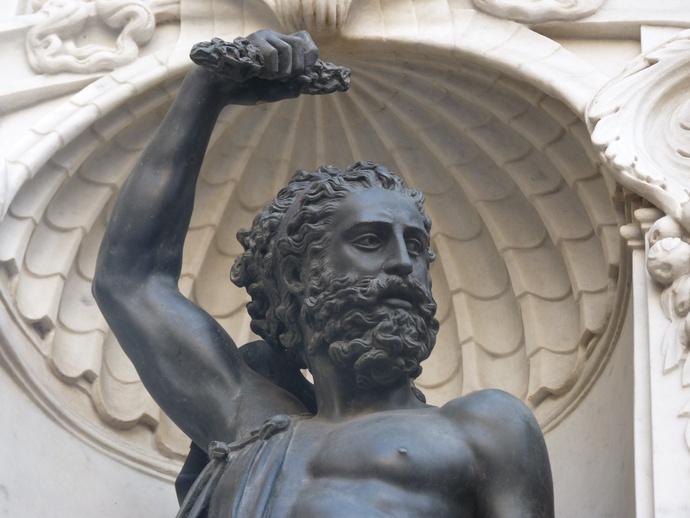 Cellini's Perseus & Medusa Jupiter