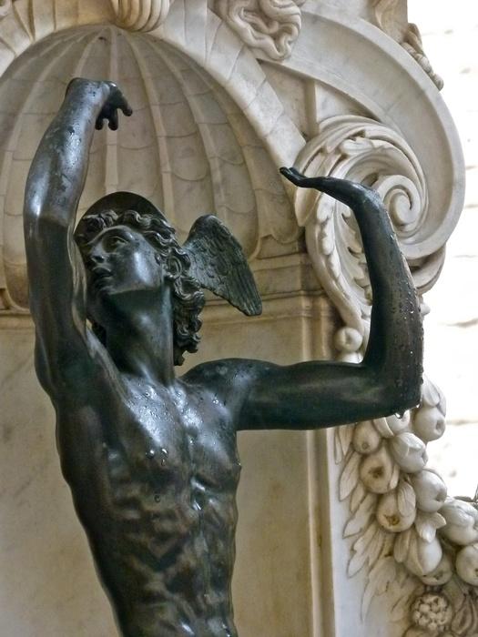 Cellini's Perseus & Medusa Mercury 2