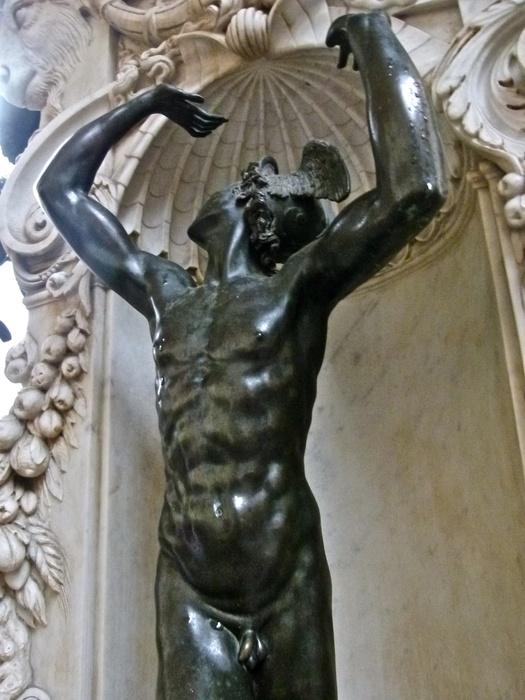 Cellini's Perseus & Medusa Mercury 4