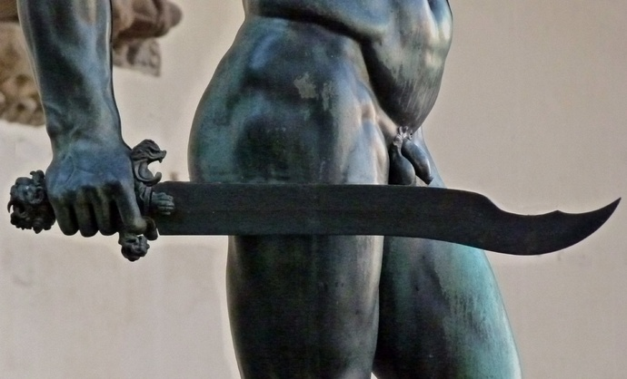 Cellini's Perseus & Medusa the Sword