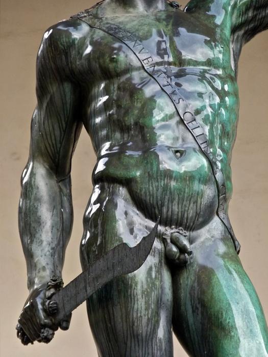 Cellini's Perseus Wet 3