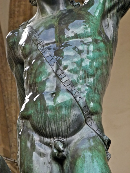 Cellini's Perseus Wet 4