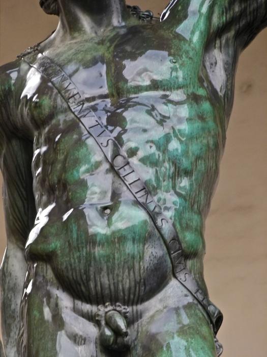 Cellini's Perseus Wet