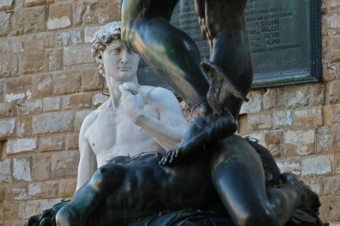 Cellini's Perseus with David