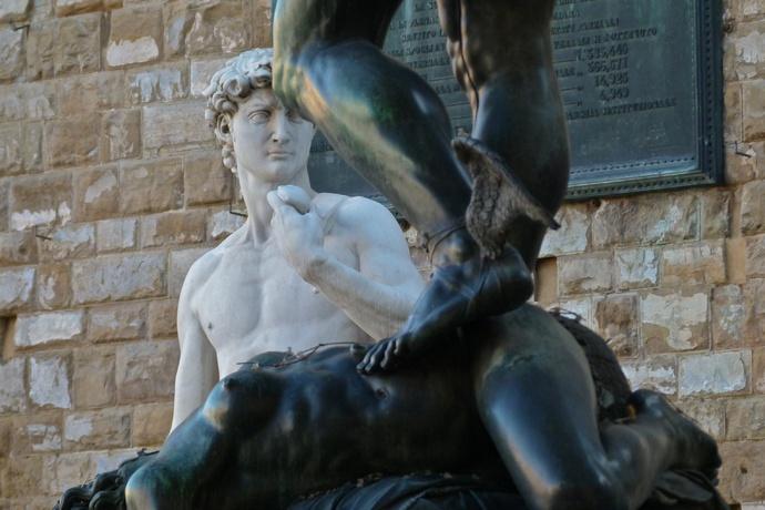 Cellini's Perseus with David