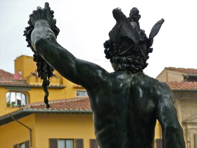 Cellini's Perseus with the Head of Medusa 16