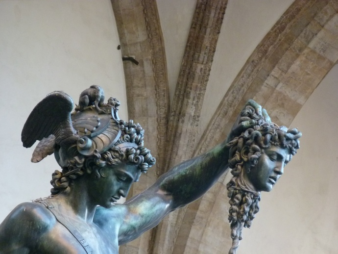 Cellini's Perseus with the Head of Medusa 3