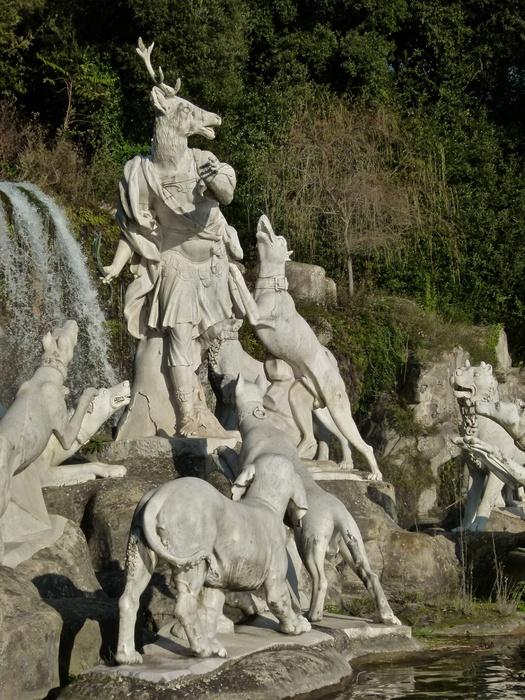 Diana & Actaeon by Luigi Vanvitelli Parco la Reggia di Caserta 2