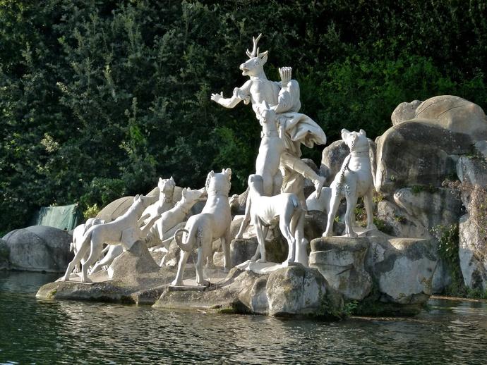 Diana & Actaeon by Luigi Vanvitelli Parco la Reggia di Caserta 6