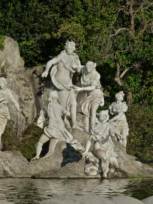 Diana & Actaeon by Luigi Vanvitelli Parco la Reggia di Caserta