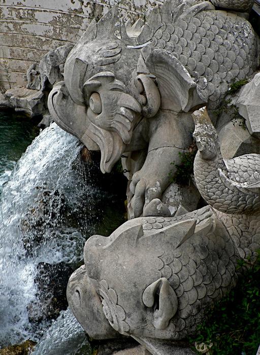 Dolphin Fountain 2