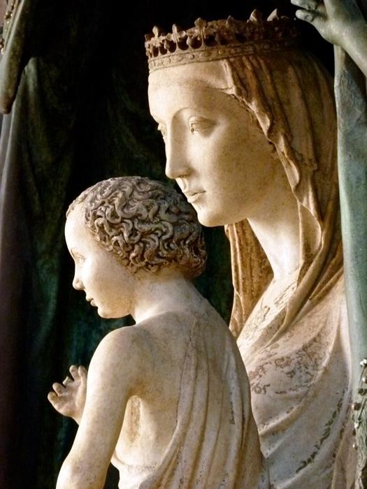 La Maestà Andrea Pisano (1389) 17
