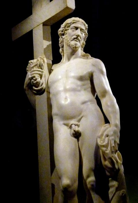Michelangelo Cristo Risorto 1st Version 6
