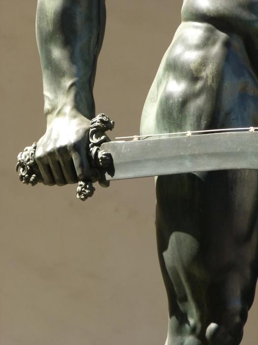 Perseus Benvenuto Cellini 2