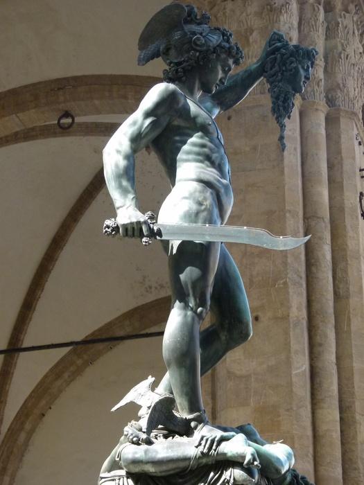 Perseus Benvenuto Cellini 5