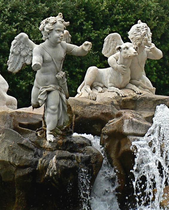 Putti Fountain of Venus & Adonis 2