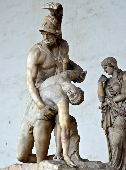 Ajax with the Body of Achilles 9