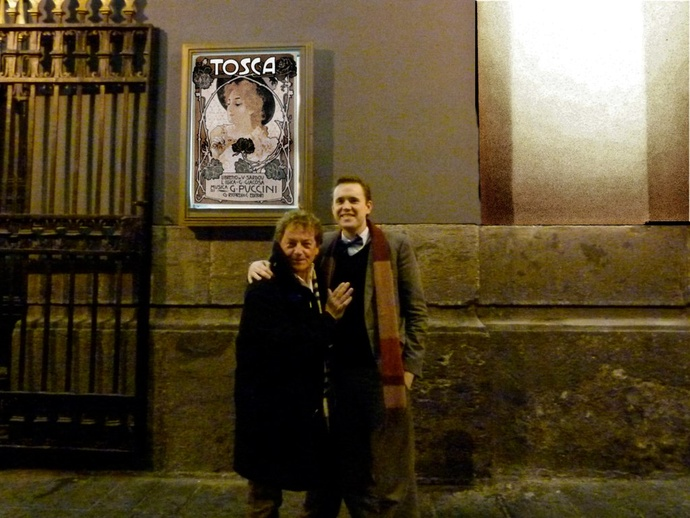 Andre & Pieter at Teatro San Carlo