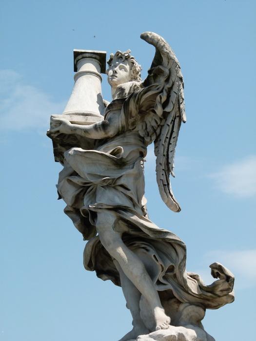 Angel with the Column Antonio Raggi 4