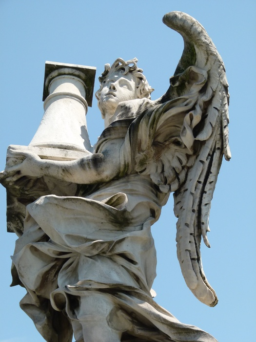 Angel with the Column Antonio Raggi