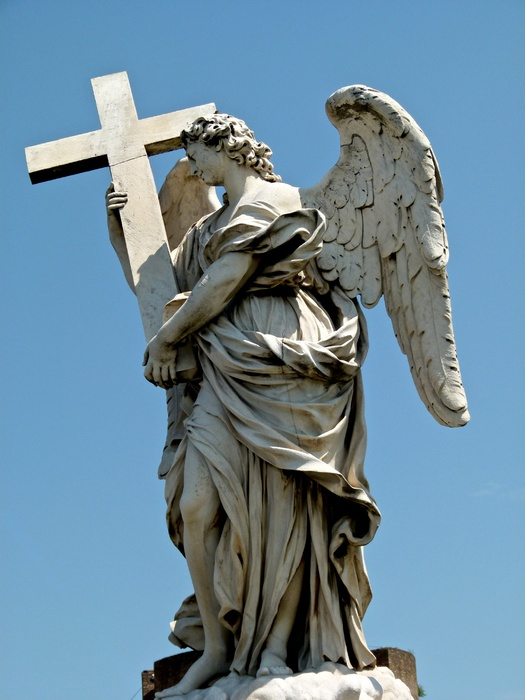 Angel with the Cross (ercole Ferrata) 2