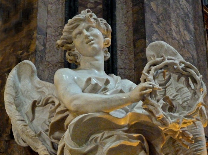 Angel with the Crown of Thorns (bernini) 04