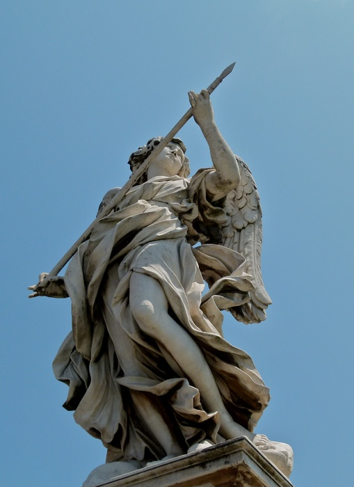 Angel with the Lance (domenico Guidi) 2