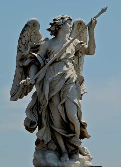 Angel with the Lance (domenico Guidi) 3