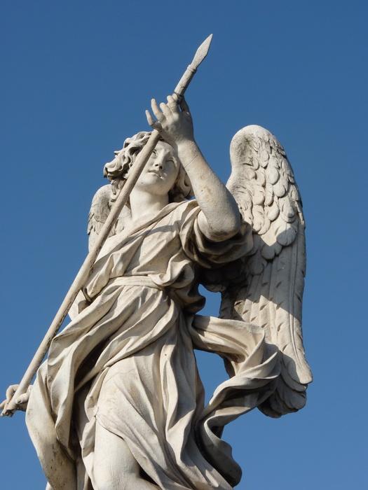 Angel with the Lance (domenico Guidi, Inscription Vulnerasti Cor Meum ) 5