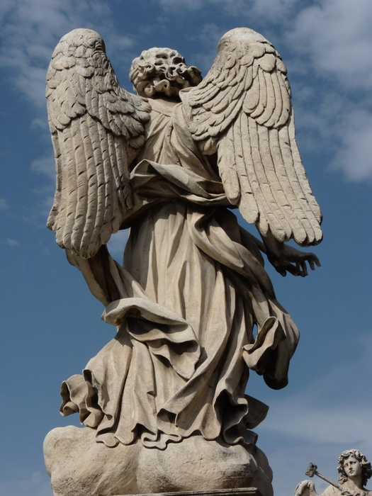 Angel with the Lance (domenico Guidi, Inscription Vulnerasti Cor Meum ) 9