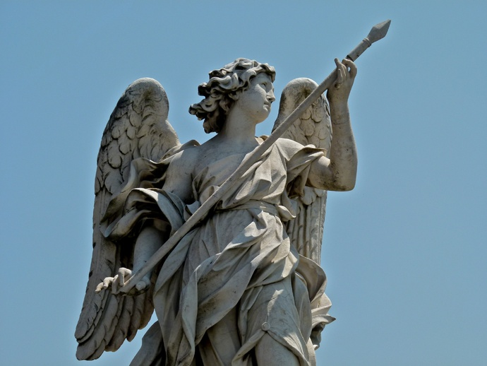 Angel with the Lance (domenico Guidi)