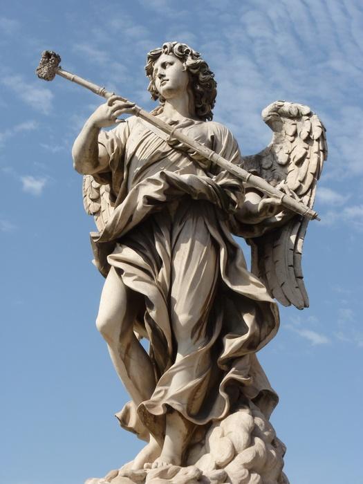Angel with the Sponge (with Vinegar) (antonio Giorgetti, Inscription Potaverunt me Aceto ) 11