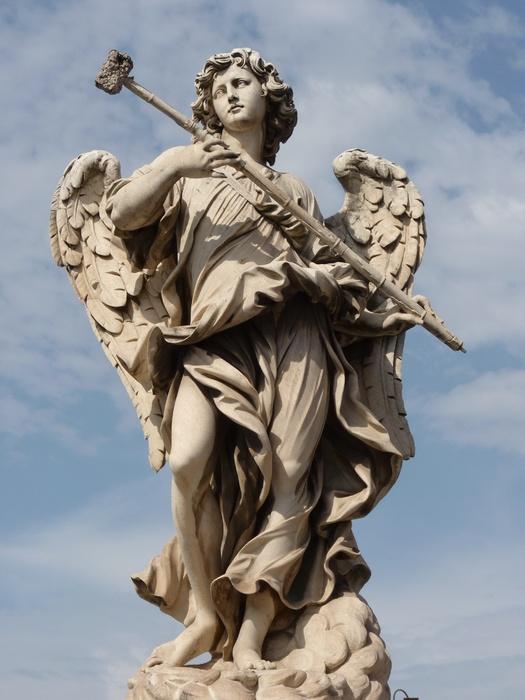Angel with the Sponge (with Vinegar) (antonio Giorgetti, Inscription Potaverunt me Aceto ) 3