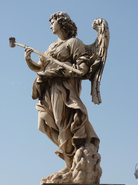 Angel with the Sponge (with Vinegar) (antonio Giorgetti, Inscription Potaverunt me Aceto ) 6