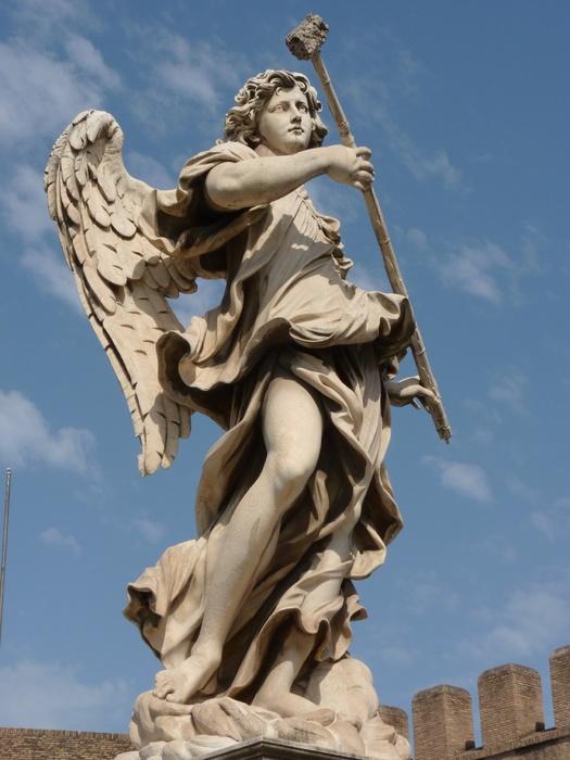 Angel with the Sponge (with Vinegar) (antonio Giorgetti, Inscription Potaverunt me Aceto ) 7
