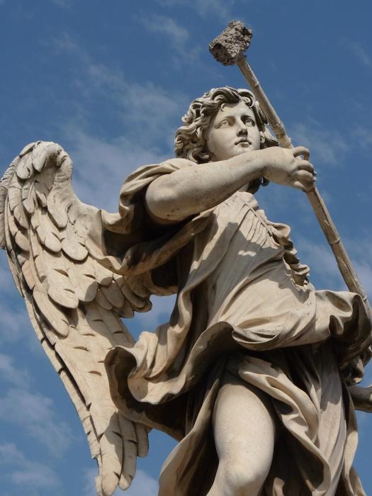 Angel with the Sponge (with Vinegar) (antonio Giorgetti, Inscription Potaverunt me Aceto ) 8
