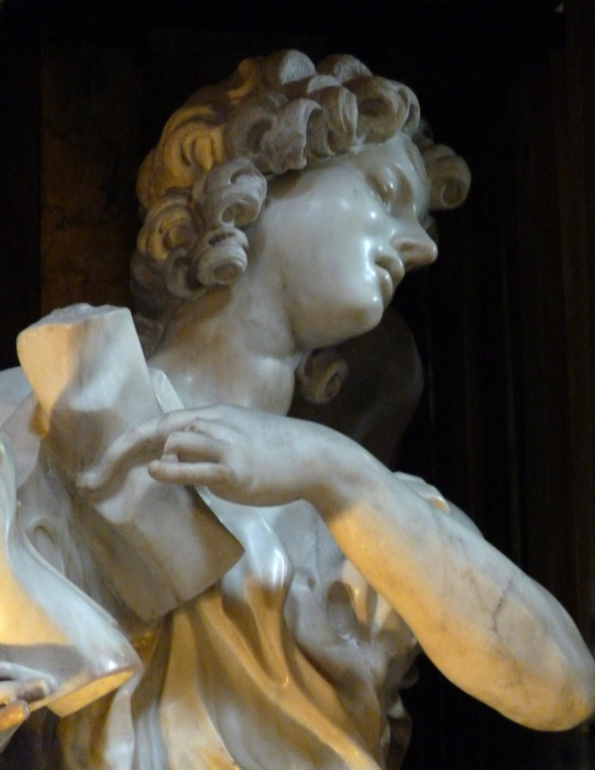 Angel with the Superscription Bernini