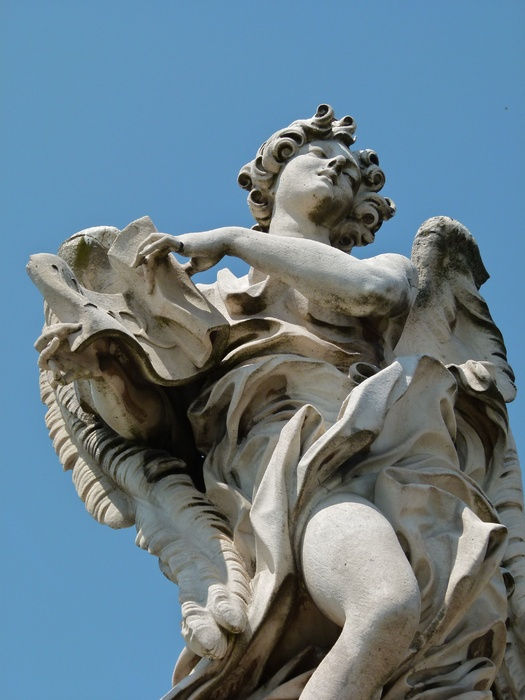 Angel with the Superscription (copy by Giulio Cartari) 3